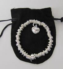 braccialetto regalo argento con scatola donna ragazza dolce custodia & Box