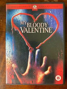 My Bloody Valentine DVD 1981 Original Slasher Horror Movie Classic