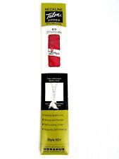 "Nos Talon Red Neckline Zipper Nylon Coil Style 110-1 22"" 65cm Zephyr Donahue"