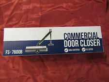 Heavy Duty Commercial Door Closer by Fortstrong Fs-7600B - Black
