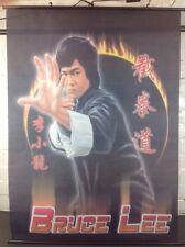 Póster de pared de tela de colección Bruce Lee Artes Marciales Hecho En Polonia