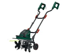 Parkside Electronic 1400W Tiller/Cultivator w/ 6 Blades - 400rpm No Load Speed