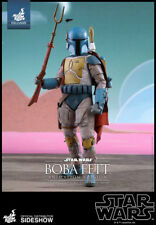 "Hot Toys Star Wars Boba Fett (Animation Version) 1/6 Scale 12"" Figure MISB"
