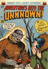 Adventures Into the Unknown 36 Comic Book Cover Art Giclee Repro on Canvas