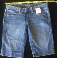 BEBE WOMENS Denim Trouser Walk Shorts Sz. 29