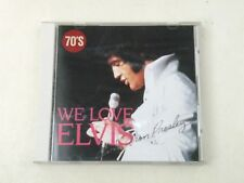 ELVIS PRESLEY - WE LOVE ELVIS 1970'S - CD JAPAN NO OBI 1987 -NM/NM
