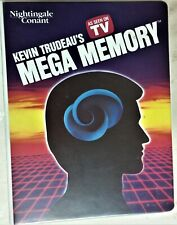 New Kevin Trudeau's Advanced Mega Memory-Cassettes, VHS, Workbook, Pocket Guide