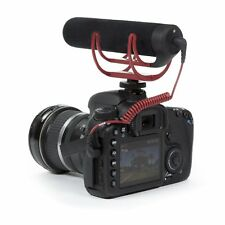 Rode Videomic GO Shoe Mount Rycote Lyre Onboard Microphone For Canon Nikon DSLR