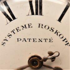 HERREN - TASCHENUHR, Roskopf – System, solide, gute Funktion, ca. 1900