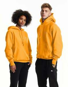 Reverse Weave Hoodie Sweatshirt Champion Life Mens Fleece Heavy Authentic Cotton