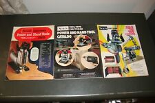 LOT OF 3 SEARS CRAFTSMAN POWER AND HAND TOOLS CATALOGS 1969 TO 1979