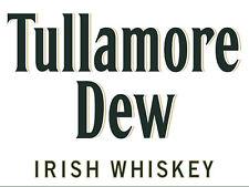 Tullamore Dew, Retro metal Aluminium Sign vintage / man cave / Bar/ Pub