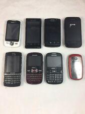 Lot of 8 Assorted Cell Phones Smartphones Samsung LG Verizon Sprint Blackberry