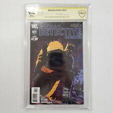 Detective Comics 874 CBCS NOT CGC 9.4 SS Signed by Francavilla & Scott Snyder