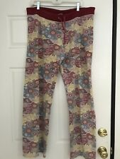 Lucky Brand Floral Sweatpants Sweat pants Lounge XL