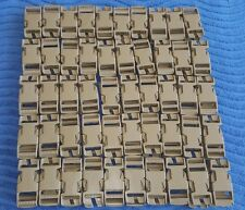 """(Wholesale Lot-100)  ITW NEXUS 1"""" Coyote Tan Buckles Packs Pouches, Backpacks"""
