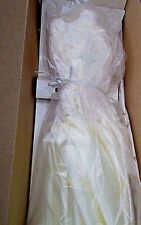 Princess Diana royal wardrobe collection Danbury Mint taffeta and lace gown
