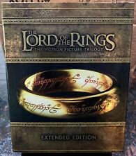 The Lord of the Rings Trilogy 15-Disc Extended Edition Blu-ray Set - Very Good!