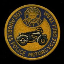 California Police Motorcycle Drill Team Reproduction Patch S-3 1