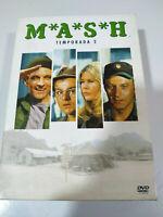 MASH M*A*S*H Segunda Temporada 2 Completa - 3 x DVD Español Ingles