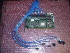Dell Cerc 6-Channel 64MB PCI-X SATA Raid Controller XD084 W/ 6 Port Cable PD637