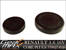 GENUINE RENAULT 1.6 1.8 2.0 16V CAMSHAFT CAP CORE PLUGS / 7700274026 /
