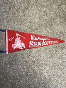 Vintage Washington Senators Pennant 50's 60's
