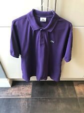 Mens Purple Lacoste Polo Shirt Size 7