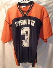 Severn River High School Lacrosse Jersey Mens Sz Xl #3 Orange/Navy Blue