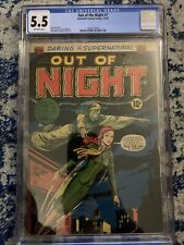 Out Of The Night 7 - CGC 5.5 - OW Pages