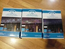 Holiday Time 70 Counts LED Icicle-Style Light Set Blue Multicolor or Cool white