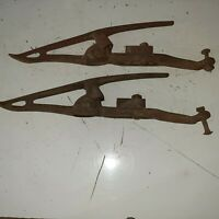 Vintage 2 Gaterman No. 8 Crop Lifters  Manitowoc Wis US Pat 179768  CAN. Applied