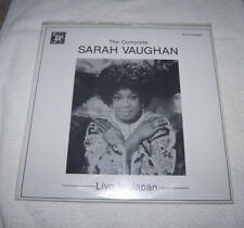 LP : The Complete Sarah Vaughan - Live in Japan (1990) 2 discs