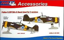 AML Models 1/48 FOKKER D.XXI SKI Resin & Finnish Decals Conversion Kit