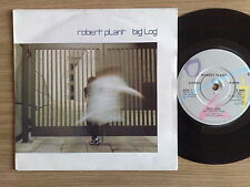 "ROBERT PLANT (LED ZEPPELIN) - BIG LOG - 45 GIRI 7"" UK PRESS"
