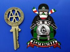 BENELLI CAFE RACER ITALIAN MOTORCYCLE moto rad STICKER