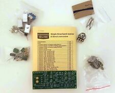 Simple 3-band Ham radio receiver of direct conversion