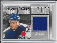 11-12 ITG Canada vs The World Chris Chelios World Junior Grads Jersey # WJG-24