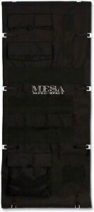 Mesa Safe Pocket Door Organizer PDO32 fits MBF6032 - Add Storage Pockets - Black