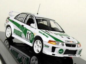 Ixo 1/43 Scale - RAM525 Mitsubishi Lancer Evo 5 Super Taikyu 1998 Diecast Car