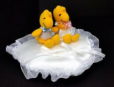Snoopy Woodstock Wedding Ring Cushion Designed in Japan (with tracking no.)