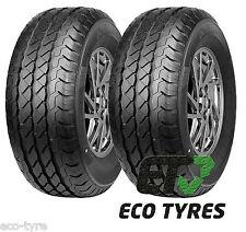 2X Tyres 215 65 R15C 104/102R 6PR House Brand E C 71dB