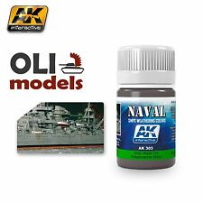 NAVAL Weathering GREY WASH for KRIEGSMARINE Enamel 35ml - AK Interactive 303