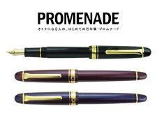 Sailor 1911 PROMENADE 14k MF (Medium-Fine) nib Blabk (BK) Fountain Pen