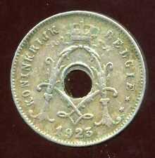 BELGIQUE 5 centimes 1923 ( belgie)  ( VARIETE  TROU DECENTRE  )