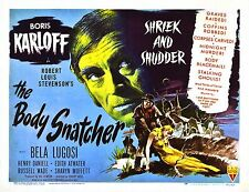 movie film repro horror karloff body snatcher Poster  A3 This A print