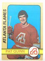 1972-73 Pat Quinn Atlanta Flames 183 OPC O-Pee-Chee Hockey Card P292