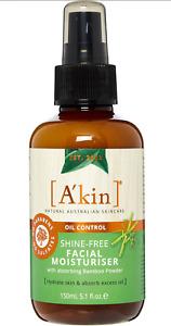 A'KIN Australian Eco Organic Shine-free Oil Control Facial Moisturiser 150ml