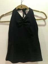 KOS-USA Black halter top activewear size small