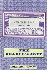 Neil Gaiman SiGNED American Gods Revised Text Readers Copy Limited edition